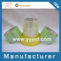 China Factory Acrylic Clear BOPP Tape Adhesive (YY-5461)