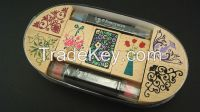 The hot selling customized wood stamps set