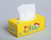 High Quality Pulp Box Facial Tissue