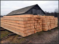 Pine round wood logs & sawn timber from Ukraine