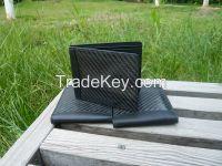 carbon fiber wallet/purse
