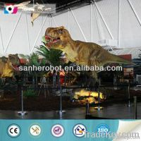 mechanical dinosaur statue for dino park