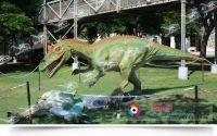 hot sale animatronic life-size dinosaur