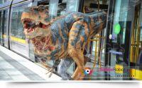 Lifesize walking dinosaur suit&costume