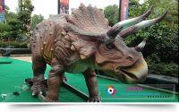 theme park jurassic park robotic dinosaur