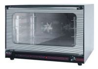Electric convection oven with steam