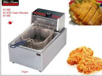 2014 year New 1-tank 1-basket electric deep fryer (CE)