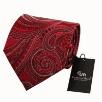 colorful silk necktie with match gift box collection