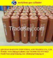 supply 40 liter dissolve acetylene cylilnder