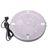10inch electric LED rotating display turntable stage for artworks