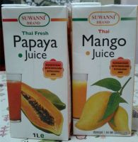 Mango Juice & Papaya Juice