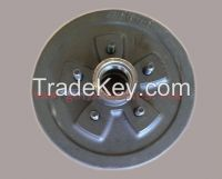 "e coat, trailer brake hub drum, 5 on 4.5"" 3500 lb Axle, 10 inch"