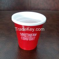ps disposable 2oz plastic red cup