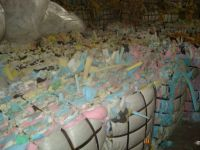 Polyurethane Foam Scrap For Rebond Foam
