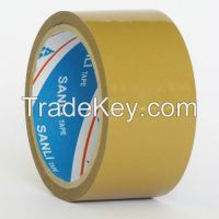 Yellowish Adhesive Packing Tpe with Lable