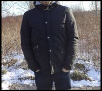 mens Quilted Jacket, Spring Jacket, Clothings