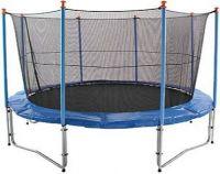 SALE 8ft 252cm trampoline set enclosure and lader