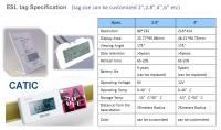 retail electronic shelf labels for supermarket esl price tag
