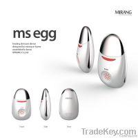 MS EGG, Heating Galvanic skincare massager, Beauty Equipment, Facial m