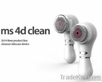 Ms 4D Clean, 4 motion Facial Cleansing Machine, beauty device, skincar