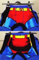 Cartoon Characthers Boy's Boxers Briefs