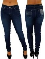 Refurbished Men and Women Denim Jeans Pants