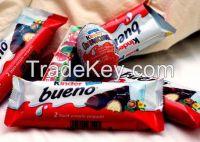 Quality Snickers, Kitkat, Bounty, Maltesers, Kinder Joy, Kinder Surprise, Kinder Bueno, Twix, M&M's, Mars