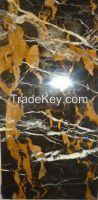 Black & Gold Marble Slabs