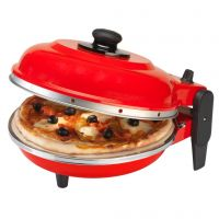 Italian Electric Pizza Oven 101 Red