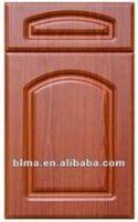 2100*950mm pvc kitchen door with glass