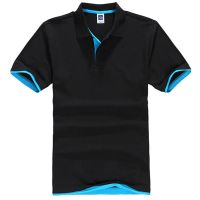 New Men's Cotton Casual Sports Polo Shirt Short Sleeve T-shirt Tee Blouse Tops