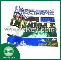 Sublimated polyester underwear elastic waistband  sport bra elastic