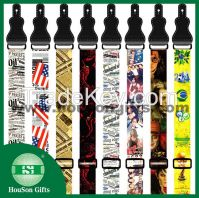 Free designs customzied guitar straps wholesale