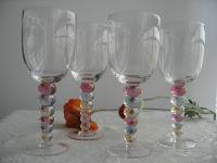 Beaded Stem Glass