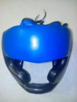 Boxing Head guard made of PU synthetice Leather Rexine