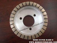 Metal diamond grinding wheel for brake disc grinding, brake pad grinding, glass grinding (owen @ moresuperhard.com)