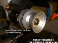 Vitrified/ceramic diamond grinding wheel for rough diamond grinding, pcd/pcbn tools grinding (owen @ moresuperhard.com)