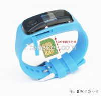 New SMS query location LBS tracking gps watch with SOS emergency call for kids children aged