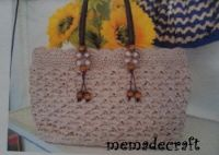 Fashion crochet bag