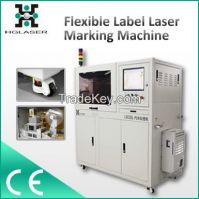 Automobile label fiber laser marking machine
