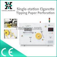 Bobbins laser tipping paper perforator