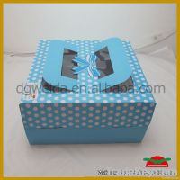 Paper Cake Box with Handle
