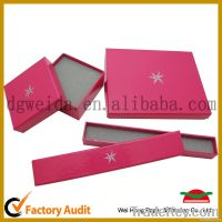 Custom Paper Jewelry Box