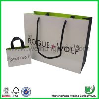 Paper Bag with Handle Wholesale