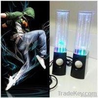 Fountain Speakers Led light Water Dance Speaker, USB Portable Computer Amplifier loudspeaker large water dancing speakers