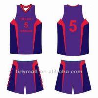 Popular Purple Basketball Uniform