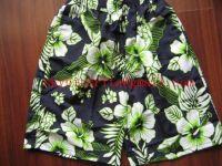 White Green flower Blue Men's casual shorts underwear pants boxer briefs panties sets g-string v-string