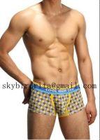 Checks Cool Men's Boxer Briefs underwear shorts panties undershirts underpants