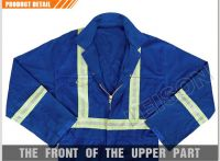 FR coverall Safety Coverall with reflective stripe