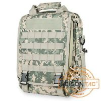 Molle System Tactical Laptop Backpack With 1000D High Strength Waterproof Cordura or Nylon